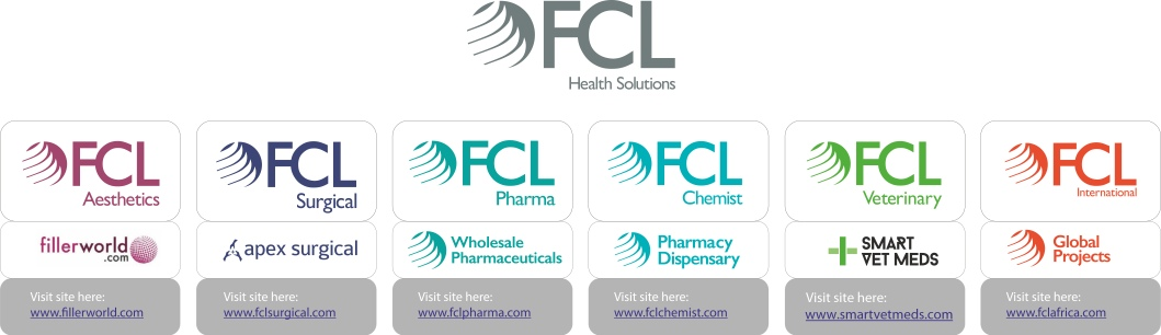 Our FCL brand architecture includes six main brand websites