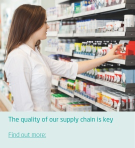 The quality of our supply chain is key to saving time and money