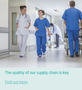 The quality of our supply chain is key to help you provide uninterrupted care